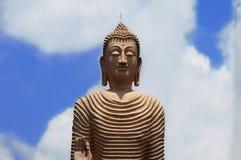 Buddah雕象 免版税图库摄影