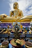 Buddah. Big golden Buddah  in Thailand Royalty Free Stock Photography