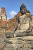 Buddah, at  Ayutthaya, Thailand Royalty Free Stock Photo