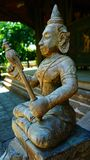 Buddah. Of Temple in Thailand stock photo