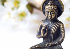 Buddah close up Stock Photos