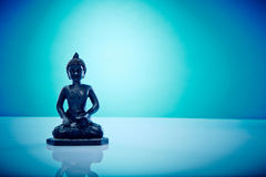 Buddah dans la pose de lotus Photo stock