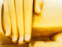 Buddah de la mano Fotos de archivo libres de regalías