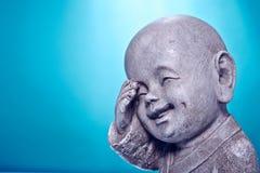 Buddah en pierre riant Photographie stock libre de droits