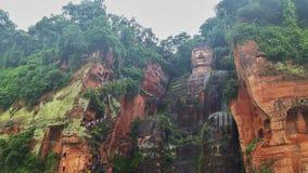 Buddah in Leshan Lizenzfreie Stockfotografie