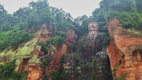 Buddah in Leshan Royalty Free Stock Photography
