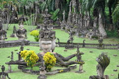 Buddah Park Royalty Free Stock Images