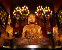 Buddah-Stange Lizenzfreies Stockfoto