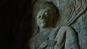 Buddah. Of Temple in Thailand stock photography