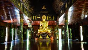 Buddah. Of Temple in Thailand royalty free stock photo