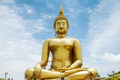 Buddah. In Thai temple for worship royalty free stock photography