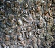 Buddah wall. Texture close up stock image