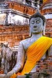 buddahmonument thailand Royaltyfri Foto