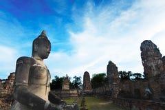 buddahmonument thailand Arkivfoton