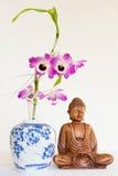 Buddahskulpture Stock Foto's