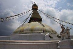 Buddanath Stupa. In Kathmandu city royalty free stock photography