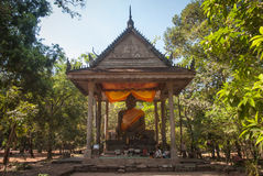 Buddastandbeeld Stock Foto