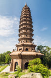 Buddha's śladu pagoda Zdjęcia Royalty Free