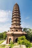 Buddha's Trace Pagoda Royalty-vrije Stock Foto's