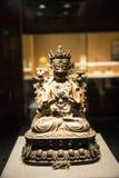 Buddhaï ¼ ŒManjusri gillar Arkivfoto