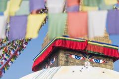 Buddhaögon Arkivfoto