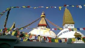 Buddhaögonställe Royaltyfri Fotografi