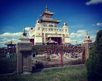 Buddha świątynia Obraz Royalty Free