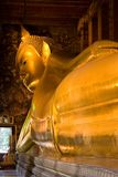 Buddha. Golden buddha statue in Grand Palace (Bangkok, Thailand Stock Photos