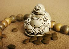 Buddha. Hotei: chinese symbol of luck and prosperity Royalty Free Stock Photography