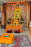 Buddha. A golden Buddha temple in China Royalty Free Stock Photo