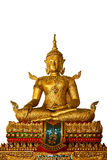 Buddha. Is a beautiful art of Thai tradition royalty free stock photos