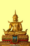 Buddha. Golden Buddha temple in Thailand royalty free stock photo