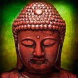 Buddha. Figure with textured blending process Stock Photos