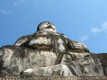 Buddha. Massive statue in the Buddha Park, Nong Khai, Thailand royalty free stock images