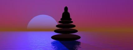 Buddha royalty free illustration