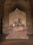 Buddha. Statue of Buddha in a pagoda in Bagan, Mandalay Region, Burma, Southeast Asia Stock Image
