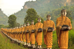 Buddha. Nature of Buddha statue Wat at Sao Roi Ton,Myanmar Stock Photos