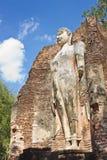 Buddha. Image in Wat Phra Si lriyabot at Kamphaeng Stock Image
