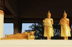 Buddha. Buddhism in suphanburi province of thailand Stock Photos