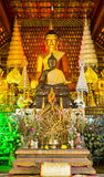 Buddha. Golden Buddha in Thai temple Royalty Free Stock Image