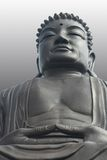 Buddha. Giant Buddha view in Asia Stock Images