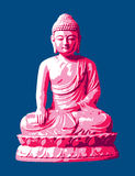 1 buddha Royaltyfri Bild