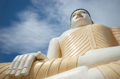 Buddha. A Buddha statue in Sri Lanka Stock Photo