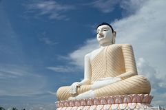 Buddha. A Buddha statue in Sri Lanka Royalty Free Stock Photography