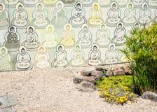 10.000 Buddha Arkivbilder