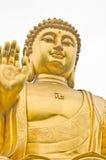 Buddha. 20 meter high Buddha gilded image statue Royalty Free Stock Image