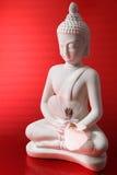 Buddha-Abbildung mit einer Basisrecheneinheit Stockfotos