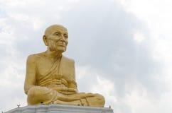 Buddha ad alba Fotografia Stock Libera da Diritti