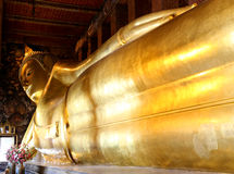 Buddha adagiantesi Fotografie Stock Libere da Diritti