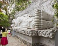 Buddha addormentato immagine stock